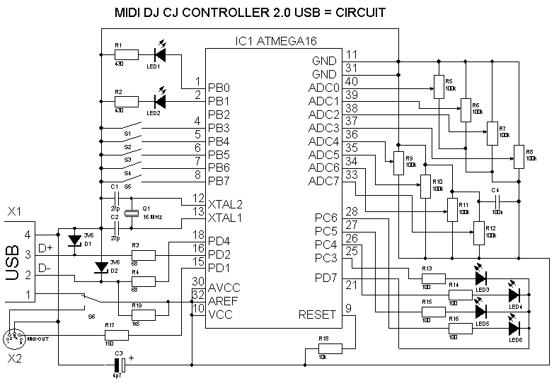 Usb контроллер своими руками фото 976
